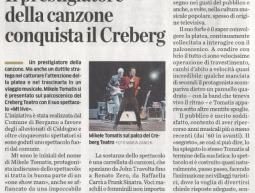 """""""ECO DI BERGAMO"""" </br>03.03.2011"""