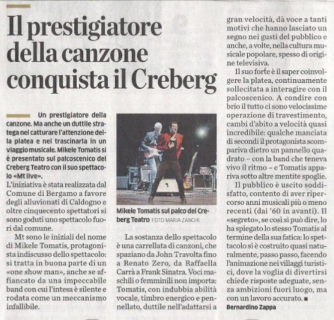 ECO DI BERGAMO 03.03.2011