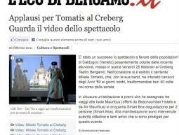 &#8220;ECO DI BERGAMO.it &#8221; </br> 28.02.2011