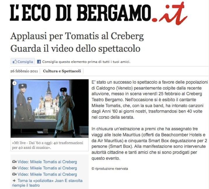 ECO DI BERGAMO.it  28.02.2011