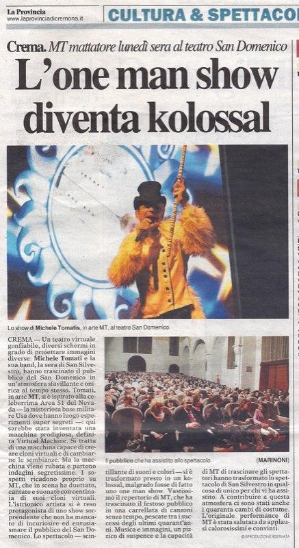 """""""LA PROVINCIA"""" </br> 02.01.2013"""