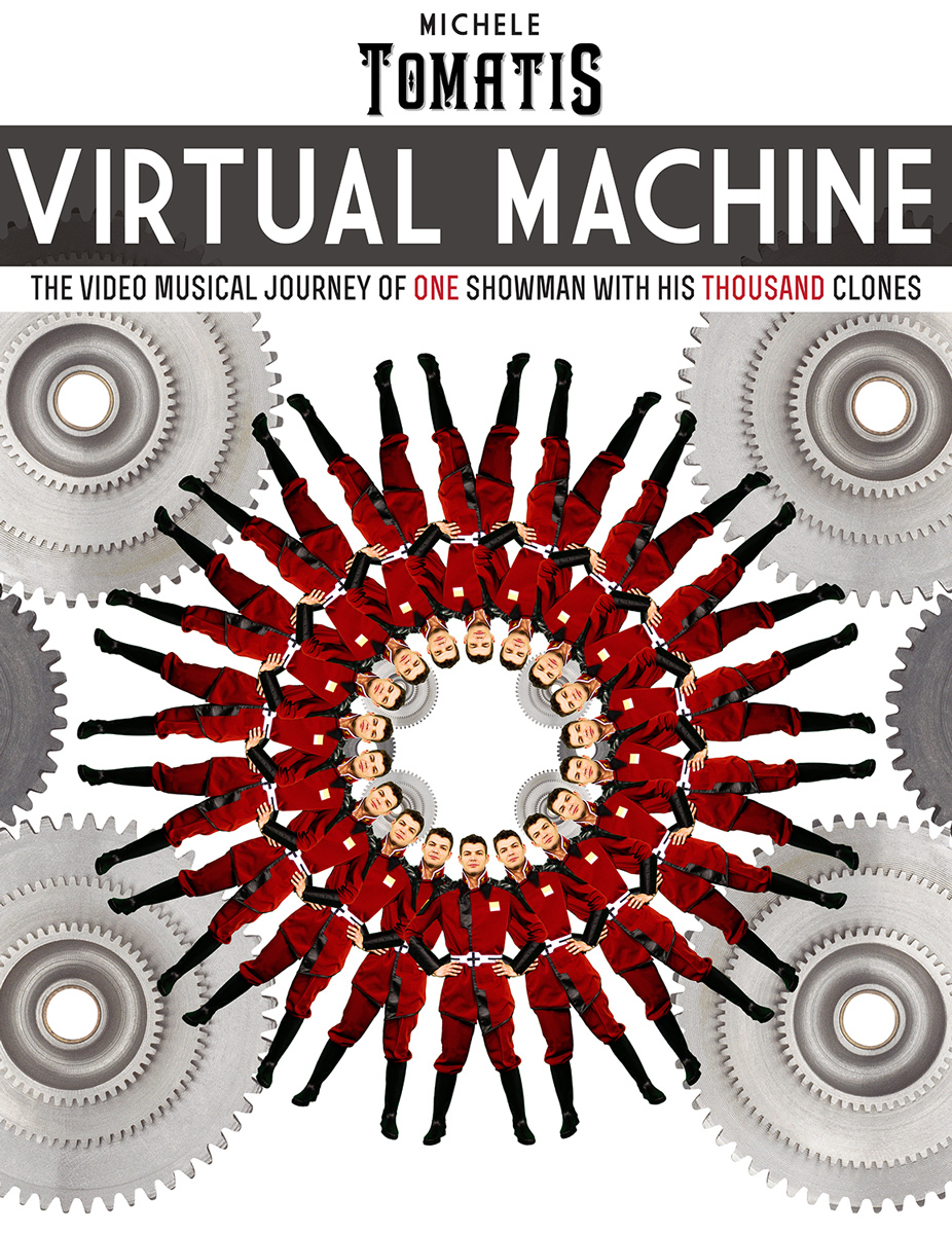 "Michele Tomatis </br>""VIRTUAL MACHINE"""