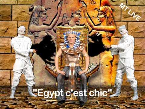 """MTLIVE BACKDROP </br> """"EGIPTH C'EST CHIC"""""""